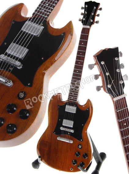 miniaturka gitary LUCIANO LIGABUE - GIBSON SG