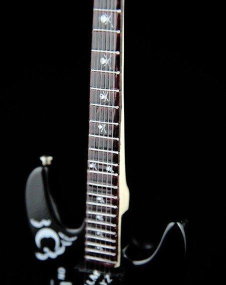 """miniaturka gitary METALLICA - KIRK HAMMETT: ESP KH-2B M-II """"OUIJA"""" SKULL"""