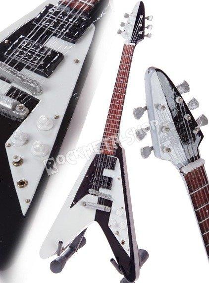 miniaturka gitary MICHAEL SCHENKER  - DEAN USA V SG