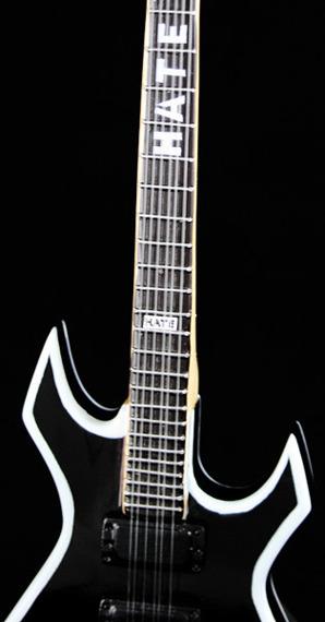 """miniaturka gitary SLIPKNOT - MICK THOMPSON: B.C. RICH WARLOCK """"HATE"""""""