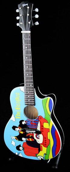 miniaturka gitary THE BEATLES - JOHN LENNON: YELLOW SUBMARINE