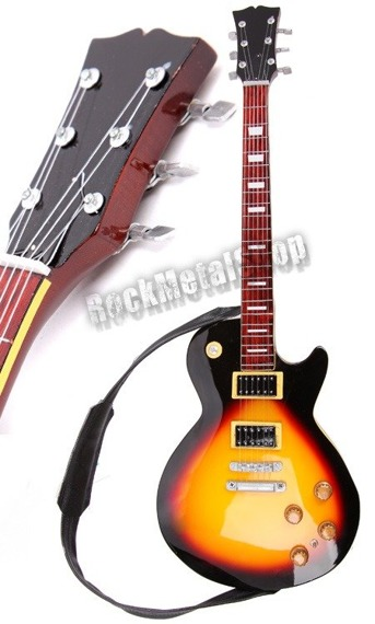 miniaturka gitary XL COLLECTION SLASH: LES PAUL TOBACCO SUNBURST STYLE