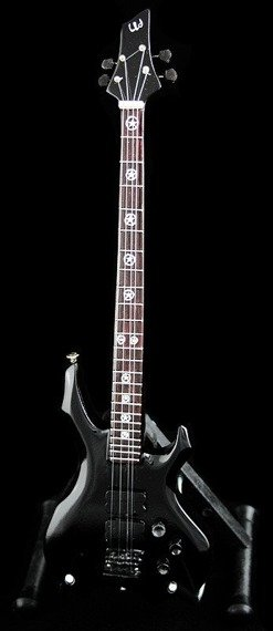 miniaturka gitary basowej SLAYER - TOM ARAYA: ESP SIGNATURE BASS
