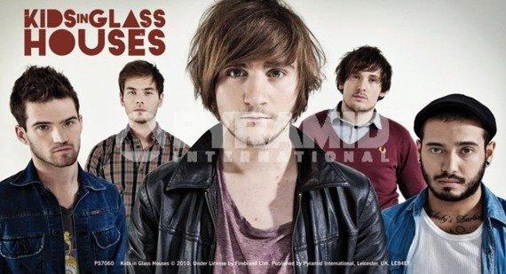 naklejka KIDS IN GLASS HOUSES - BAND