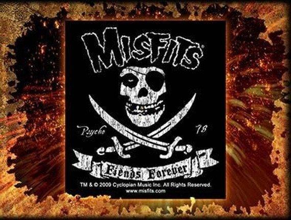 naklejka MISFITS - FIENDS FOREVER