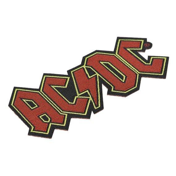 naszywka AC/DC - LOGO CUT-OUT