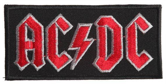 naszywka AC/DC - LOGO RED