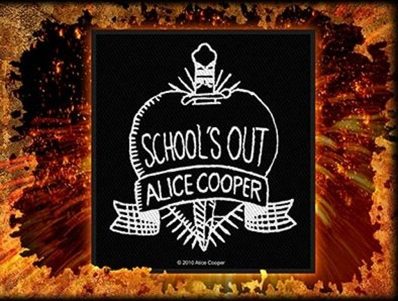 naszywka ALICE COOPER - SCHOOL'S OUT