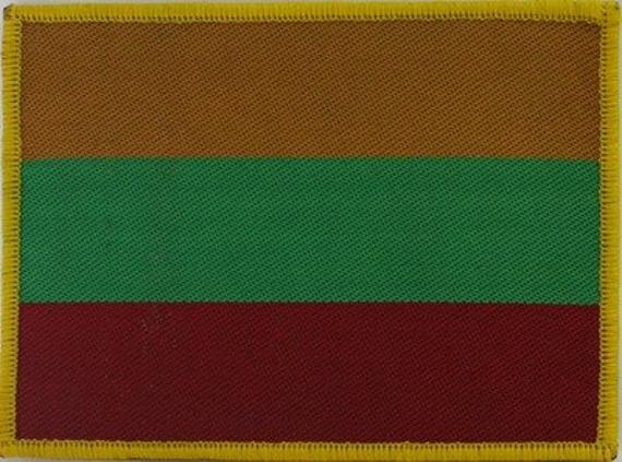 naszywka FLAGA LITWA  LND 209
