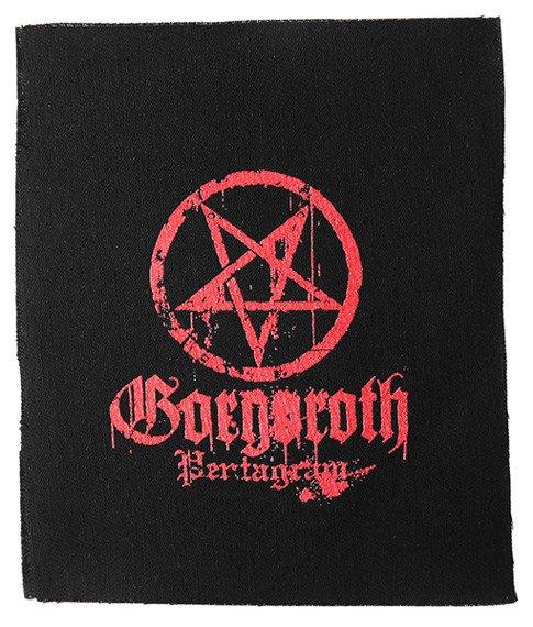 naszywka GORGOROTH - PENTAGRAM RED