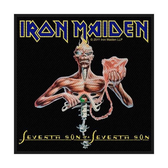 naszywka IRON MAIDEN - SEVENTH SON