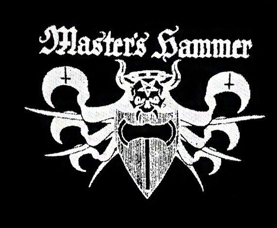 naszywka MASTER'S HAMMER - LOGO