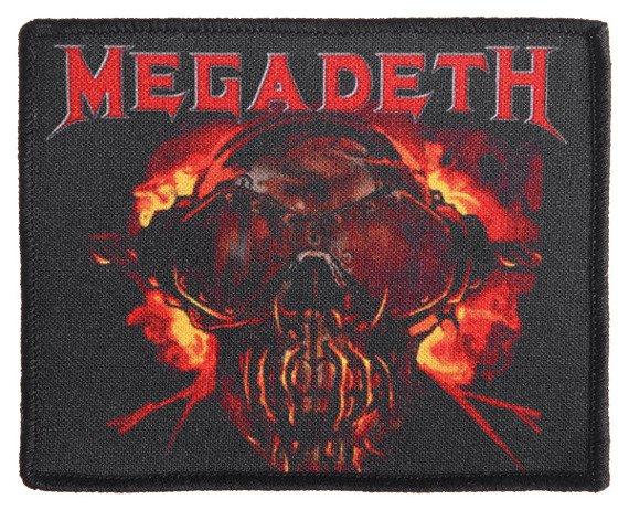 naszywka MEGADETH - VIC RATTLEHEAD
