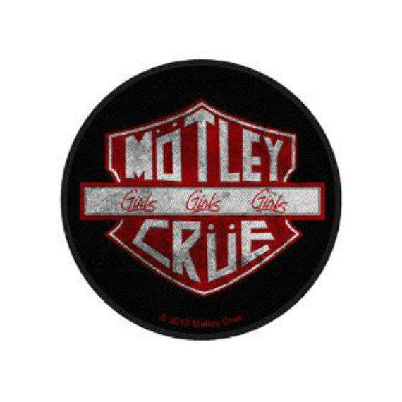 naszywka MOTLEY CRUE - GIRLS GIRLS GIRLS
