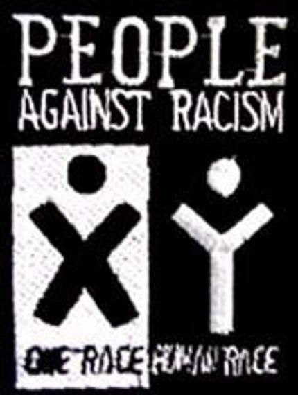 naszywka PEOPLE - AGAINST RACISM
