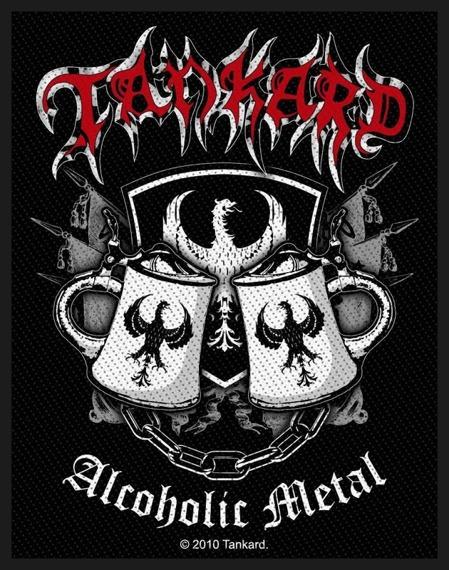 naszywka TANKARD - ALCOHOLIC METAL