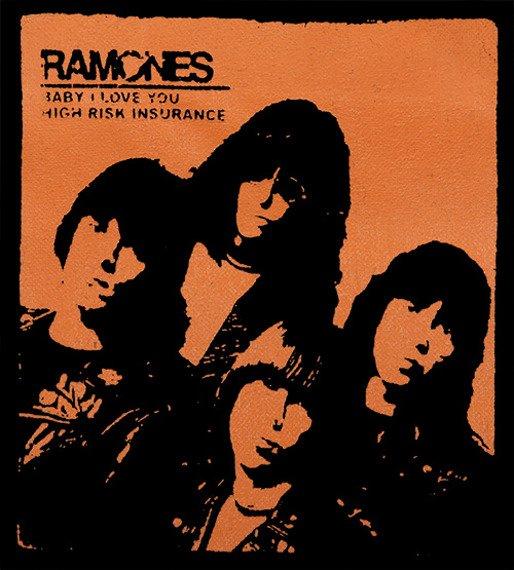 naszywka THE RAMONES