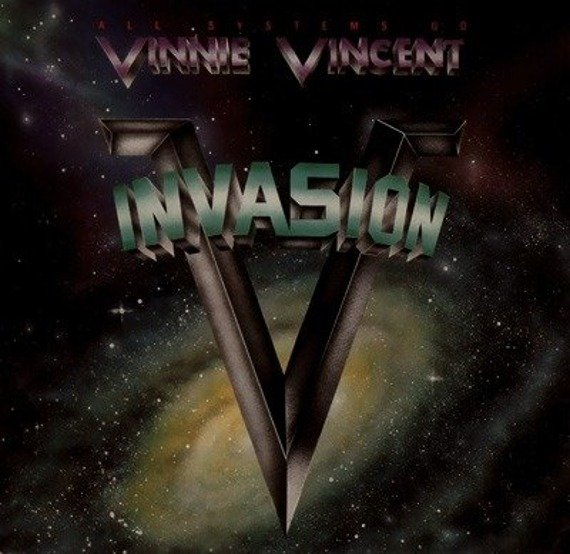 naszywka VINNIE VINCENT INVASION - ALL SYSTEMS GO