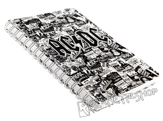 notes AC/DC - LOGO, A6