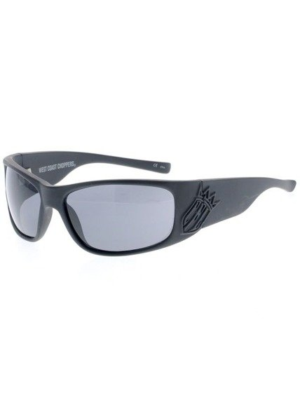 okulary WEST COAST CHOPPERS - CFL CHOPPERS FOR LIFE SMOKED LENSES