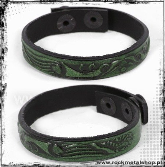 opaska napa 16mm TRIBAL green
