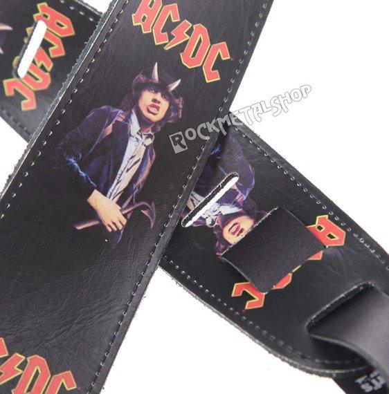 pas do gitary AC/DC - ANGUS skórzany, 63mm