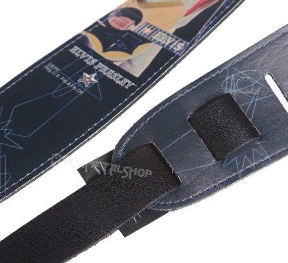 pas do gitary ELVIS PRESLEY - WITH GUITAR skórzany, 63mm