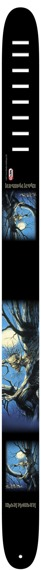 pas do gitary IRON MAIDEN - FEAR OF THE DARK skórzany, 63mm