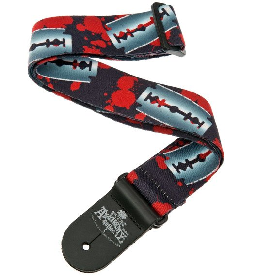 pasek do gitary PLANET WAVES - ALCHEMY GOTHIC RAZOR EDGE 50mm (50AL03)