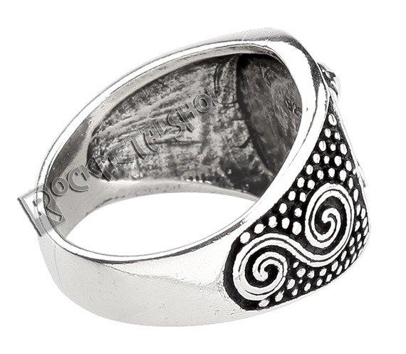 pierścień THORS HAMMER, srebro 925
