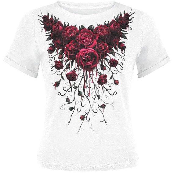 piżama SPIRAL - BLOOD ROSE zestaw 4-częściowy