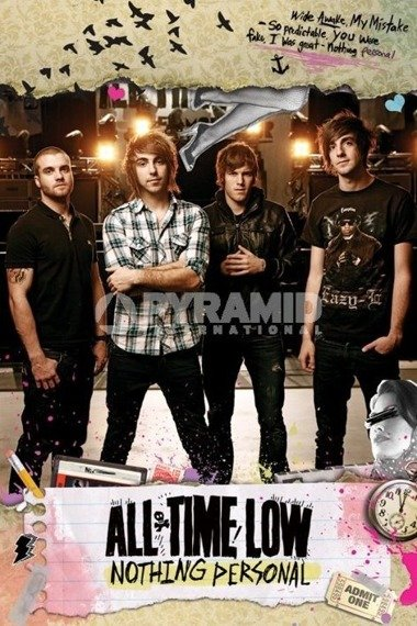 plakat ALL TIME LOW - NOTHING PERSONAL