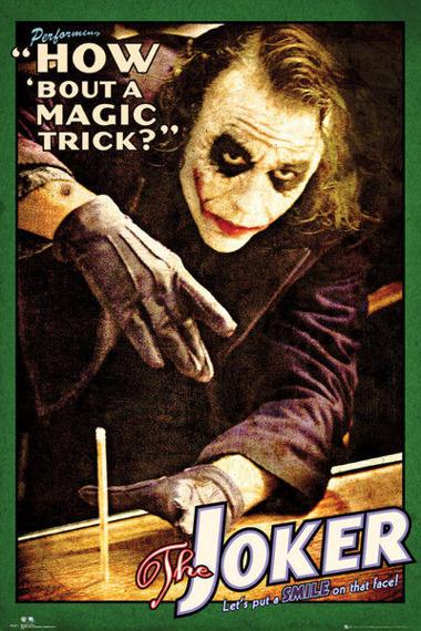 plakat BATMAN - JOKER TRICK