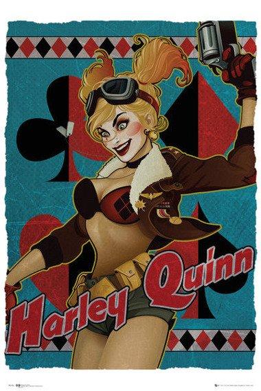 plakat DC COMICS - HARLEY QUINN BOMBSHELL
