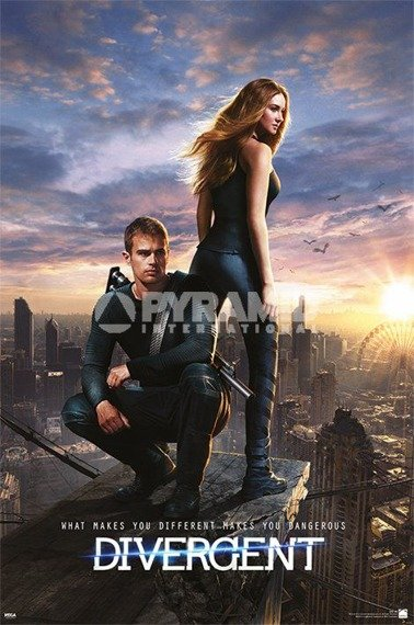 plakat DIVERGENT - ONE SHEET