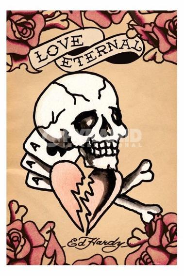 plakat ED HARDY - LOVE ETERNAL
