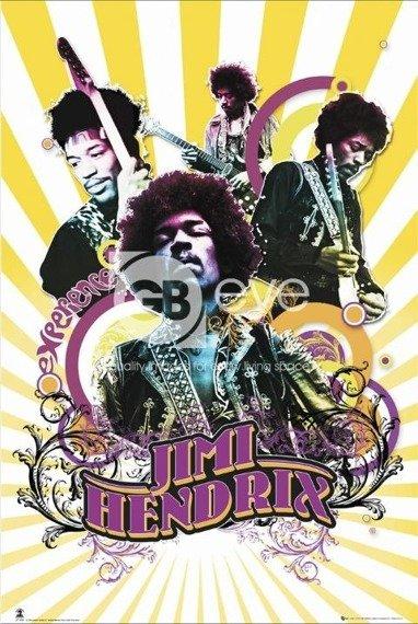 plakat JIMI HENDRIX - MUSIC