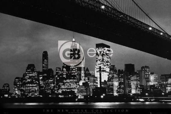 plakat NEW YORK - BRIDGE