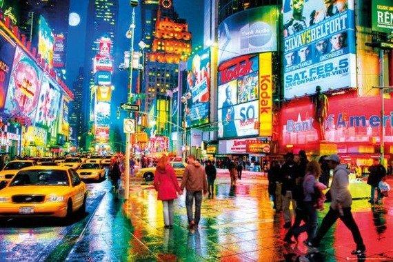 plakat NEW YORK - TIMES SQUARE