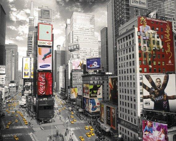 plakat NEW YORK - TIMES SQUARE 2
