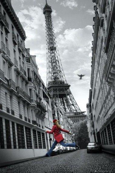plakat PARIS - SKIPPING GIRL