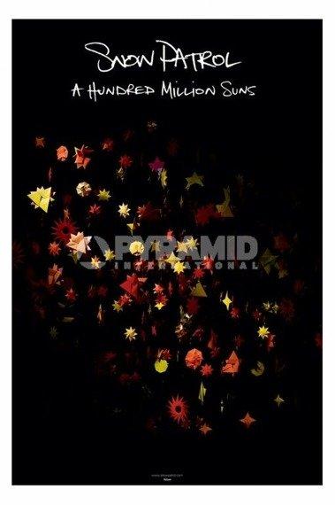 plakat SNOW PATROL - A HUNDRED MILLION SUNS