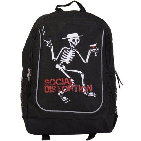 plecak SOCIAL DISTORTION - SKELLY