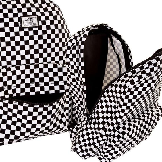 plecak VANS - OLD SKOOL II BLACK/WHITE