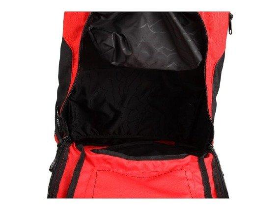 plecak VANS - SHROUD SKATEPACK (RED/BLACK)