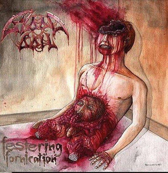 płyta CD: BLOODBOIL - FESTERING FORNICATION