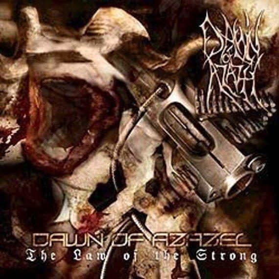 płyta CD: DAWN OF AZAZEL - THE LAW OF THE STRONG