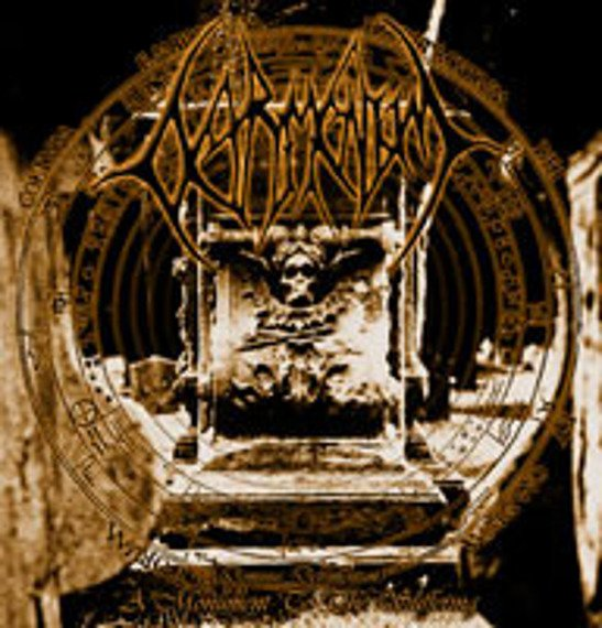 płyta CD: DETRIMENTUM (UK) - A MONUMENT TO THE SUFFERING