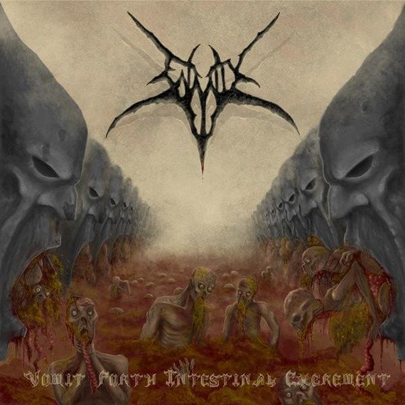 płyta CD: ENMITY - VOMIT FORTH INTESTINAL EXCREMENT