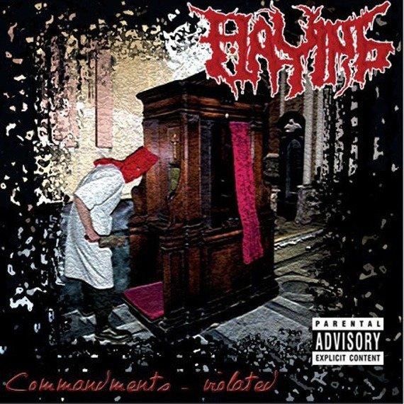 płyta CD: FLAYING - COMMANDMENTS - VIOLATED